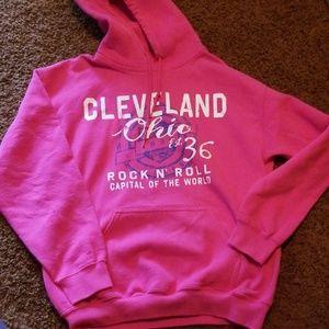 Cleveland rock n roll hoodie